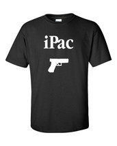 iPac Gun Pistol 9mm Firearm 2nd Amendment Gun Control Adult Men's Tee Sh... - $9.85+