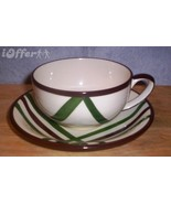 MID CENTURY MODERN CALIFORNIA POTTERY--VERNONWARE BEL AIR COFFEE CUP AND... - $11.95