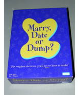 2003 Marry, Date or Dump? Game - $20.70