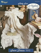 Needlecraft Shop Crochet Pattern 962370 Snow Daisies Afghan Collectors S... - $4.99