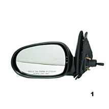Fits 00-06 Nissan Senta Left Driver Manual Remote Mirror Smooth Unpainted - $32.95