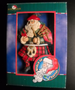 Kurt Adler Christmas Ornament World of Santas Scottish Original Presenta... - $10.99