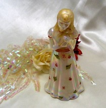 2997 FENTON Handpainted Little Sister Glass Doll - $49.50