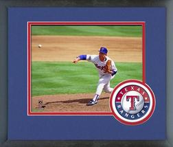 Nolan Ryan Texas Rangers 1993 Season - 11 x 14 Team Logo Matted/Framed Photo - $43.55