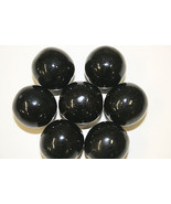 GUMBALLS BLACK 25mm or 1 inch (285 count), 5LBS - $27.31