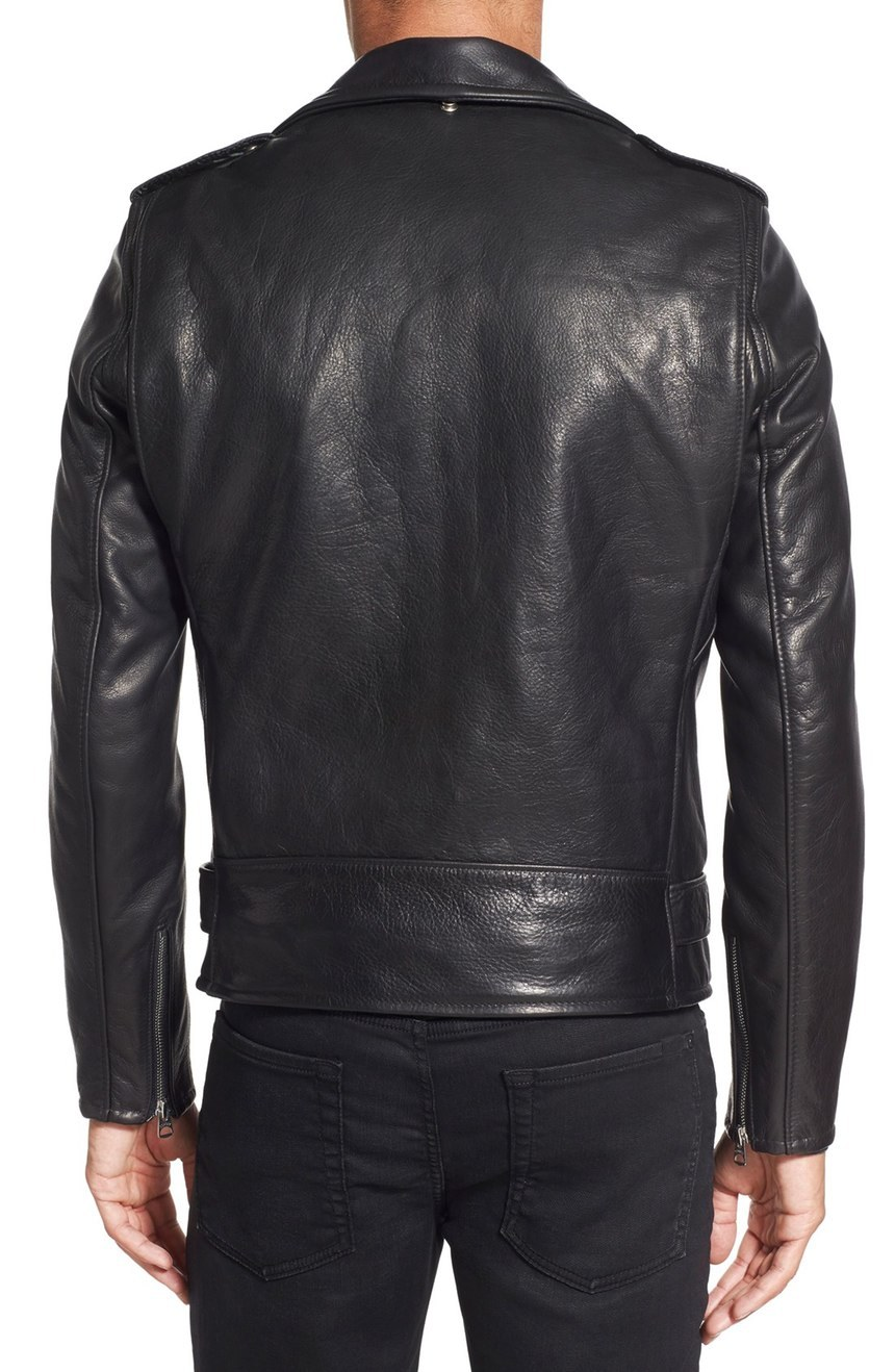 Handmade leather motorcycle jackets