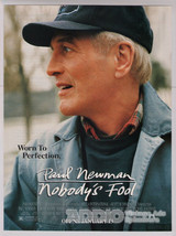 Paul Newman Nobody's Fool 90s Movie Print Ad Film Advertisement Mini-Pos... - $9.74