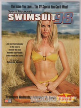 Rebecca Romijn Stamos Sports Illustrated Swimsuit 98 Bikini Model TNT Pr... - $10.69