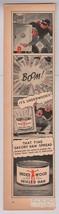 Underwood Deviled Ham '40s Burglar Safe Robbers Cartoon Comic TNT Print ... - $6.89