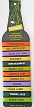 12 Halloween ID Drink Bands Wine Soda Juice Pun... - $9.97