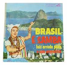 LUIZ ARRUDA PAES Brasil E Samba VINYL LP 60s Brazil Latin Groove Beat RC... - $21.03