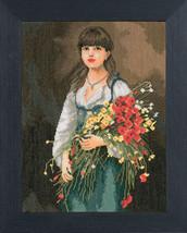 Lanarte Flowergirl 38009a 29x39 Снят с производства - $61.00