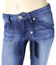 NEW ROCK & REPUBLIC Edie In Elevate Blue JEANS Tag 25 Boot Cut R&R Made ... - $23.36