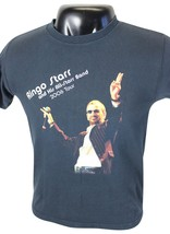 RINGO STARR & All-Starr Band 2006 US TOUR T-SHIRT Small Concert Cities E... - $16.82