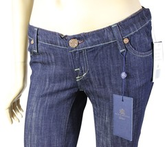 NEW ROCK & REPUBLIC Tyler MATERNITY JEANS 28 Stretch Varnish Blue Made I... - $65.44