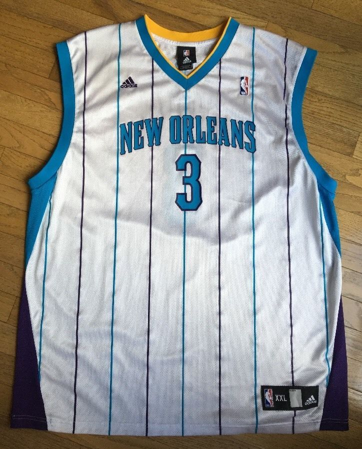 108df4a5a New Orleans Hornets Chris Paul Jersey White and 50 similar items