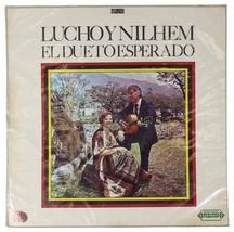 LUCHO Y NILHEM El Dueto Esperado LP Record 70s Columbian Folk Codiscos C... - $17.75