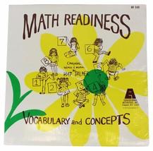 HAP PALMER Math Readiness: Vocabulary & Concepts LP SEALED 1972 Kids Edu... - $15.88