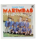 MARIMBAS DEL ESTADO DE OAXACA Sensacion Tropical SIGNED LP Record 60s Me... - $17.88