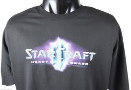NEW STARCRAFT II T-SHIRT XXL Black JINX PC Video Game Nerd Geek Chic NWO... - $15.14