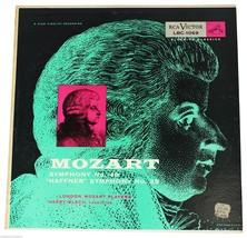 MOZART Players Harry Blech Symphony 40 & 35 LP 50s RCA Victor Bluebird L... - $18.69