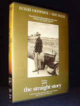 Disney•The Straight Story (DVD, 2000) No Scratches•USA•Out-Of-Print•Siss... - $62.99