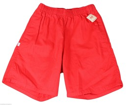 """New Vtg 80s Levis Red Shorts 29"""" Waist Youth Medium Adult X Small Deadstock Nwt - $23.83"""