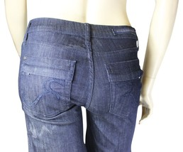 NEW ROCK & REPUBLIC Noemi In Submerge JEANS Sailor Wide Leg Tag 25 Made ... - $28.04