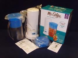 NEW!•OPEN BOX•Mr. Coffee•2 Quart•Iced Tea Pot•Model No TM1•NEW!•OPEN BOX... - $29.99