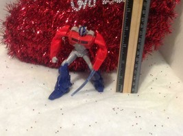 Transformers Optimus Prime Christmas Tree Ornament - OP Red and Blue - $12.88