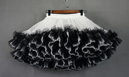 Women Girl Tiered Tutu Skirt Outfit Plus Size Puffy Party Tutu Skirt Blush Pink  image 11