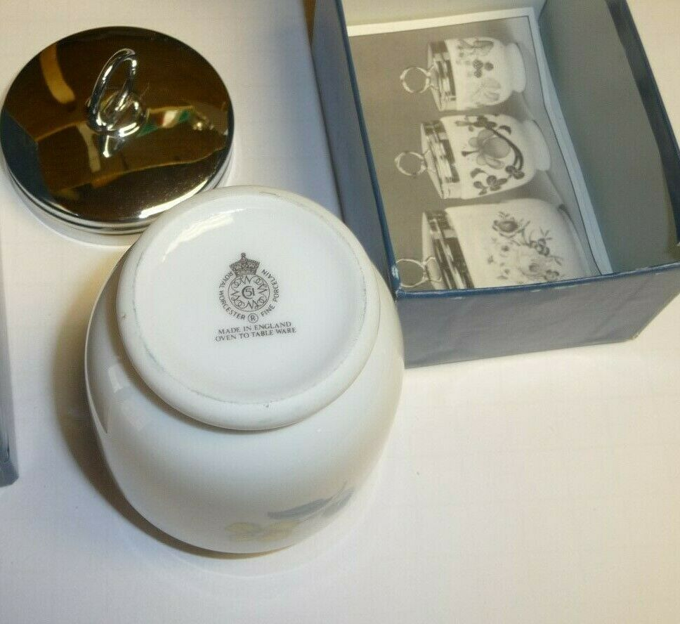 Royal Worcester,Egg Coddler,NEW never used,very shinny and clean