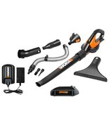 WG545.1 Worx 20V Max Lithium Blower/Sweeper wit... - $99.99