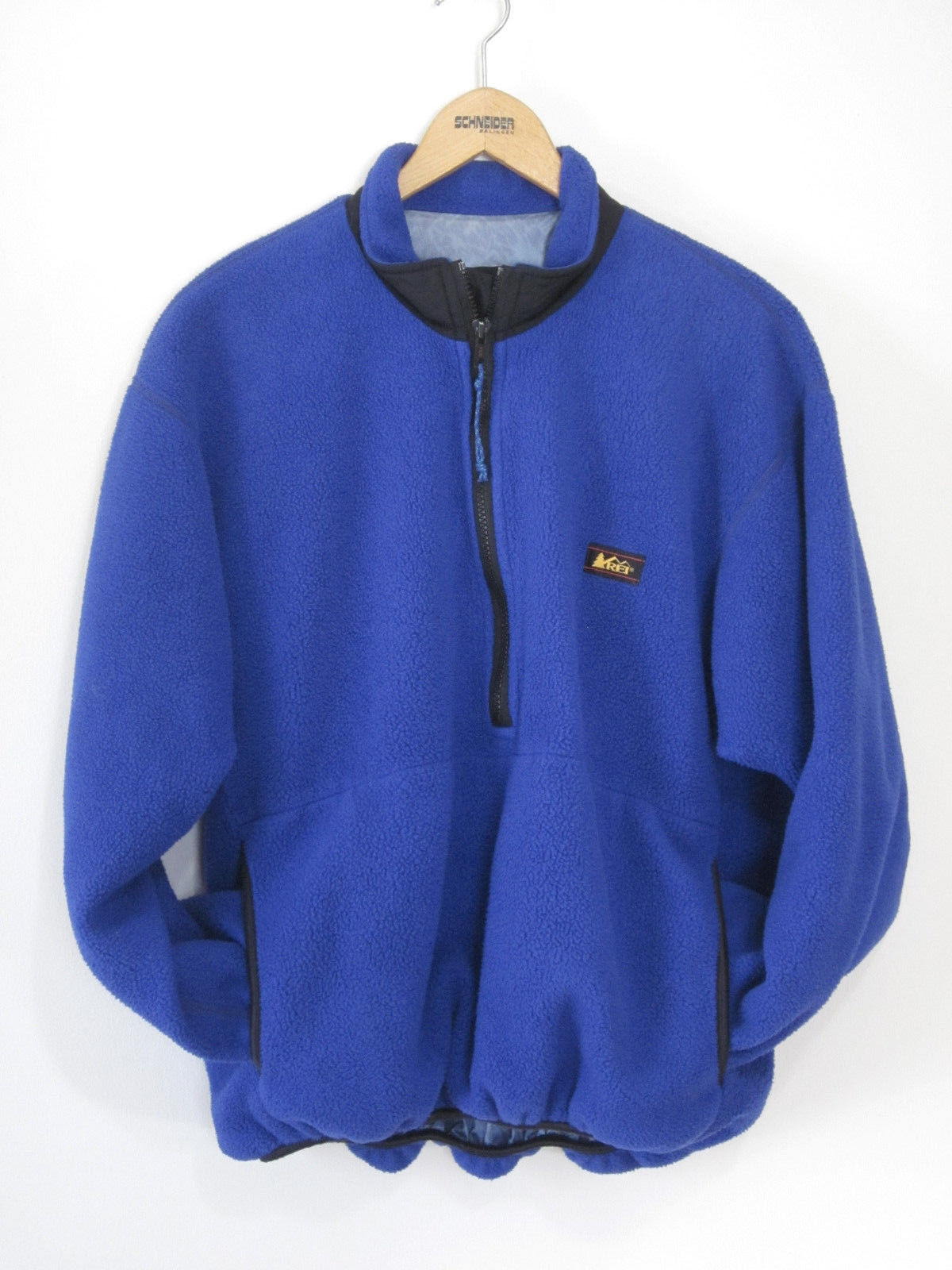 REI Fleece Pullover Layer Half Zip Blue and 50 similar items