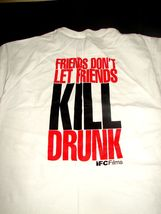 2007 YOU KILL ME Adult Large T-SHIRT Movie FRIENDS DONT LET FRIENDS KILL... - $9.74