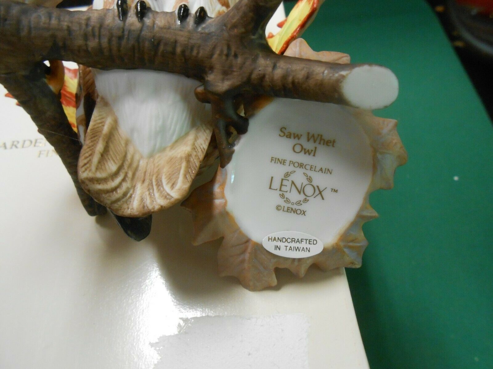 "Great  LENOX Porcelain ""Saw Whet Owl"" Figure.....FREE POSTAGE USA"