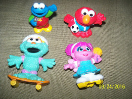 sesame street toy characters figurines henson muppets cake toppers LOT - $21.78