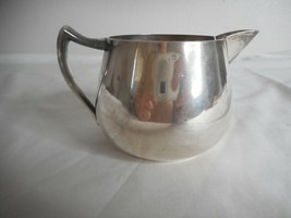 Vintage Creamer F. B. Rogers 1883 Silver on Copper 1082 - $19.79