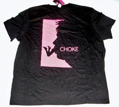 NEW 2008 CHOKE Movie Promotional LARGE T-SHIRT Adult Sam Rockwell - $9.99