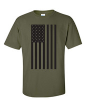 USA American BIG Flag Team Olymipics FRONT ONLY Men's Tee Shirt 751 - $9.85+