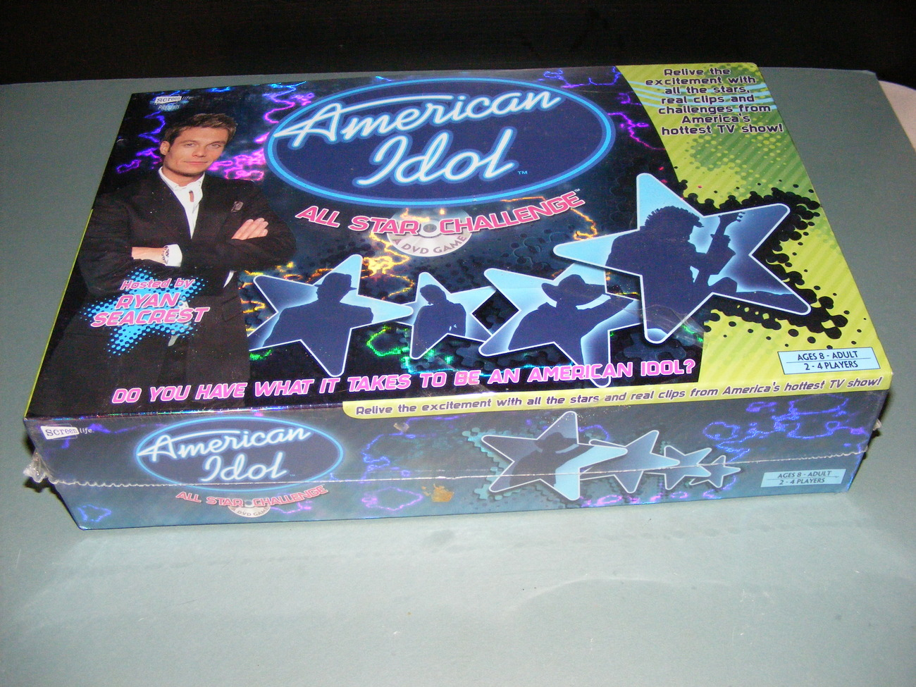 2006 American Idol All Star Challenge Game FACTORY SEALED