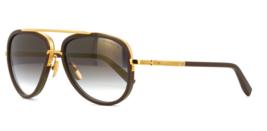 Dita Sonnenbrille Mach Zwei DRX 2031 G  GRY GLD 60 Hergestellt in Japan - $673.19