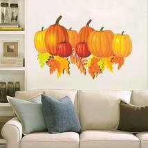 Halloween autumn pimkin leaf 3D Window Decal WALL STICKER Home Decor Art... - $6.92+