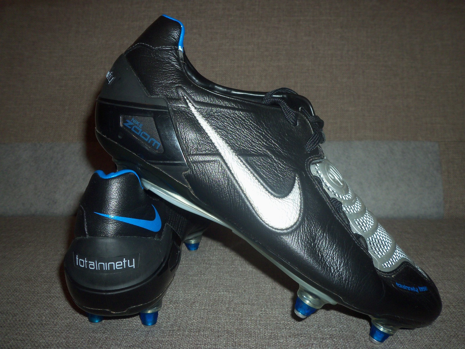 low priced 4fa2b c8a28 NIKE TOTAL 90 LASER I SG Football boots Soccer cleats US 12,5 UK 11