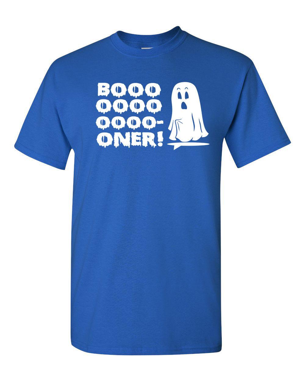 BOO BOOOOONER Boner Ghost Halloween Funny Men's Tee Shirt 1260