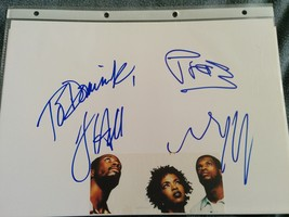 The Fugees Hand-Signed Autograph  8x10 With Lifetime Guarantee - $240.00