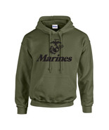 Marine Corps LOGO Anchor Eagle United States Marines USMC Military Hoodi... - $22.46+