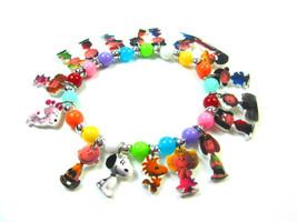 Charlie Brown Charm Bracelet, Peanuts Charm Bra... - $12.00