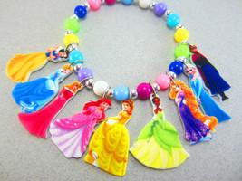 Disney Princess Charm Bracelet, Disney Princess... - $9.00