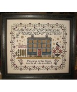 Blue Manor cross stitch chart Abby Rose Designs - $10.80